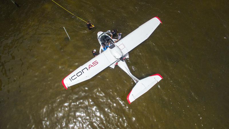 Gene-Valentino-Icon-A5-water-landing-river-bank