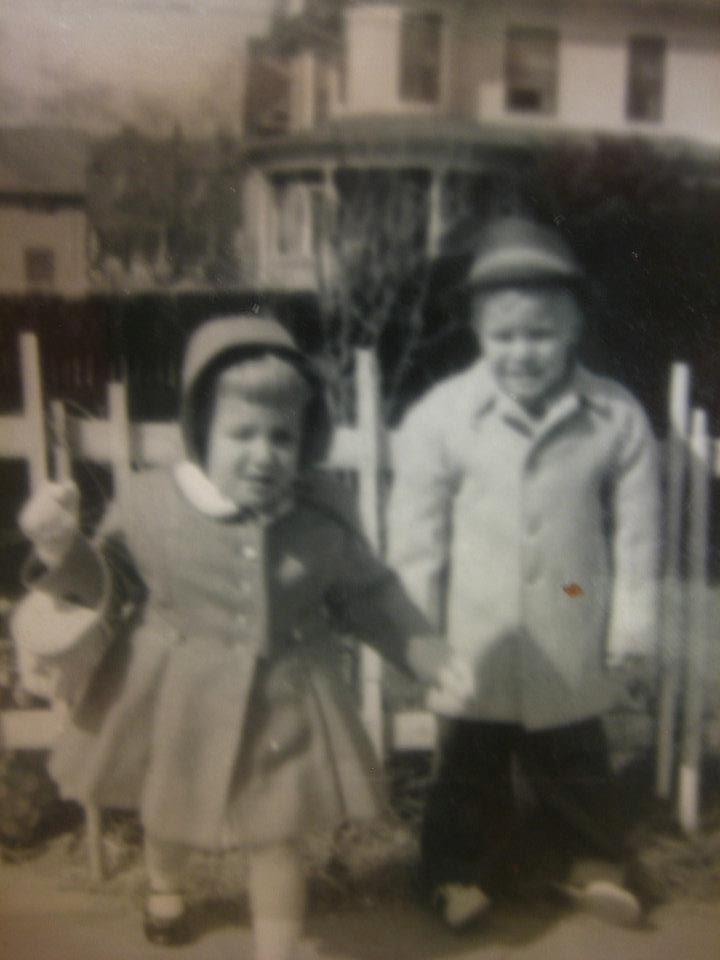 Gene Valentino and sister Leila 1956